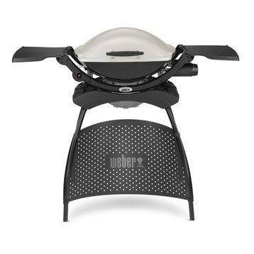 Barbecue au gaz WEBER Q2000, titanium