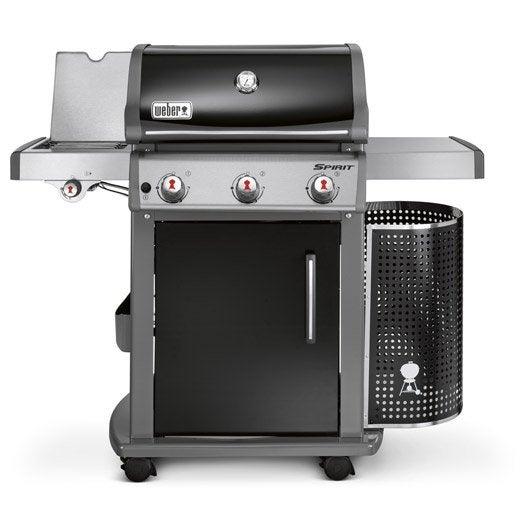 Barbecue au gaz weber spirit e320 black leroy merlin - Leroy merlin barbecue gaz ...