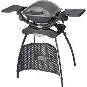 Barbecue électrique WEBER Q 1400 stand 1 brûleurs, gris anthracite