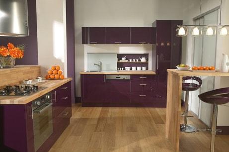 Une cuisine aux espaces bien définis