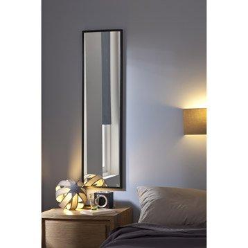 Miroir Lario INSPIRE, argent, l.30 x H.120 cm