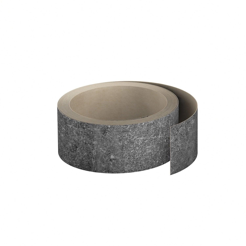 chant de plan de travail stratifi effet b ton gris mat l 4 5 cm ep leroy merlin. Black Bedroom Furniture Sets. Home Design Ideas