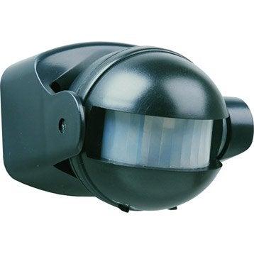 D tecteur de mouvement de lumi re de pr sence leroy merlin for Detecteur de mouvement sans fil exterieur eclairage
