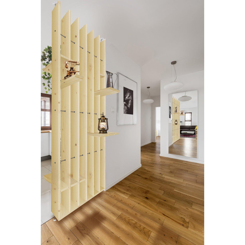 cloison de s paration polaris sapin bois naturel leroy. Black Bedroom Furniture Sets. Home Design Ideas