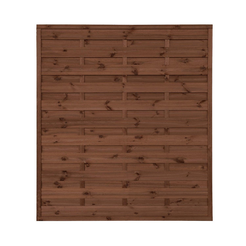 panneau barrire palissade claustra panneau bois clture bois au meilleur prix leroy merlin with. Black Bedroom Furniture Sets. Home Design Ideas