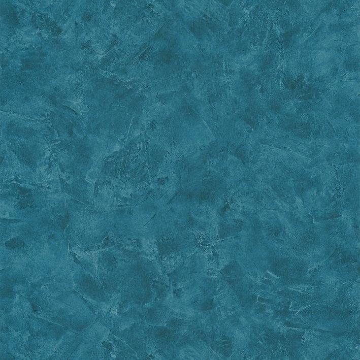 Papier Peint Intissé Patine Uni Bleu Canard Leroy Merlin
