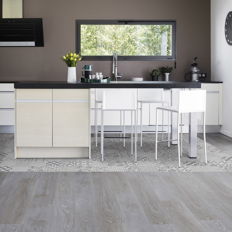 Dalle Pvc Adhesive Repositionnable Intenso Gerflor Senso Premium Easy Provence B Leroy Merlin