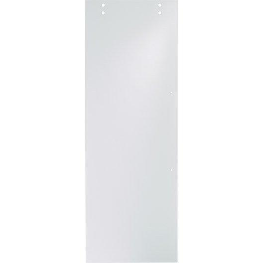 Porte coulissante vegas artens verre 204 x 83 cm leroy - Porte verre coulissante leroy merlin ...
