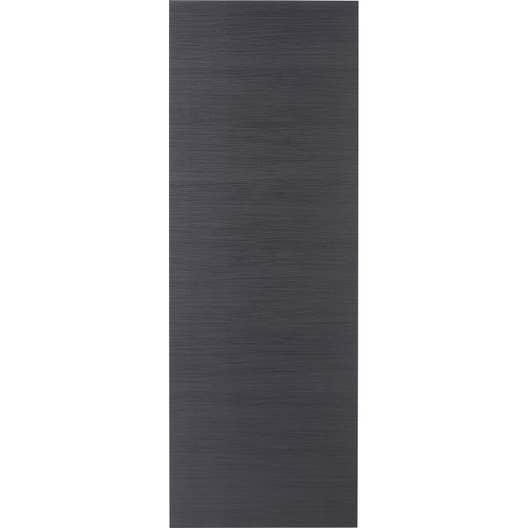 porte coulissante rev tu d cor ch ne gris londres 204 x 83 cm leroy merlin. Black Bedroom Furniture Sets. Home Design Ideas