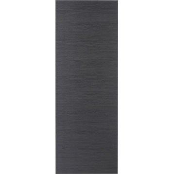Porte coulissante revêtu décor chêne grisé Londres, 204 x 83 cm