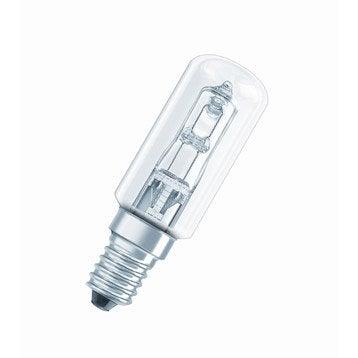 Ampoule tube halogène 40W = 490Lm (équiv. 40W) E14 3000K OSRAM