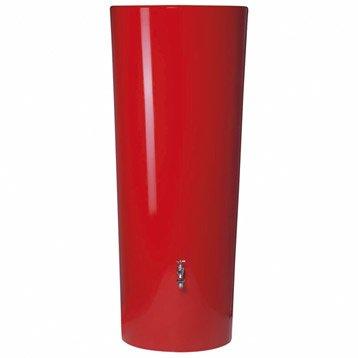 Récupérateur d'eau aérien GARANTIA cylindrique tomato , 350 l