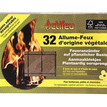 Allume-feu solide par 32 pièce(s)