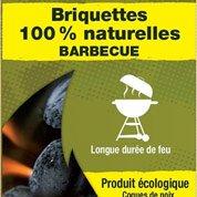 Briquette en coco, 3 kg
