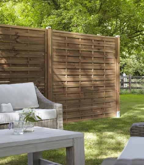 Tout savoir sur les panneaux en bois leroy merlin - Cloison jardin leroy merlin ...