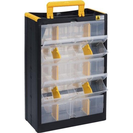 Casier vis plastique 10 tiroirs leroy merlin - Leroy merlin casier rangement ...