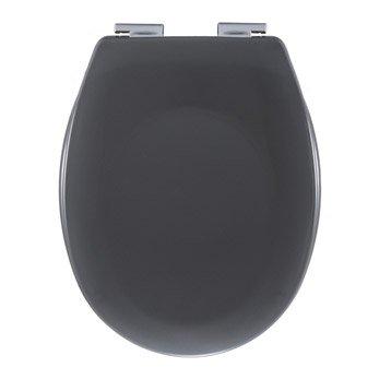 Abattant frein de chute gris plastique thermodur, SENSEA Sparta
