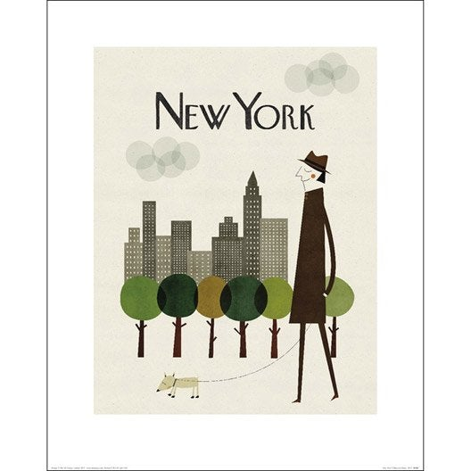 Affiche new york x cm leroy merlin - Cadre new york leroy merlin ...