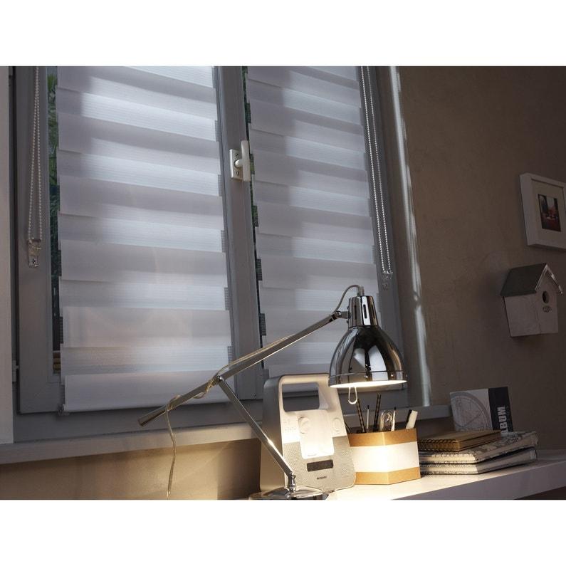 store enrouleur jour nuit inspire blanc 77 81 x 250 cm. Black Bedroom Furniture Sets. Home Design Ideas
