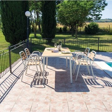Emejing Salon De Jardin Sesimbra Blanc Images - Amazing House ...