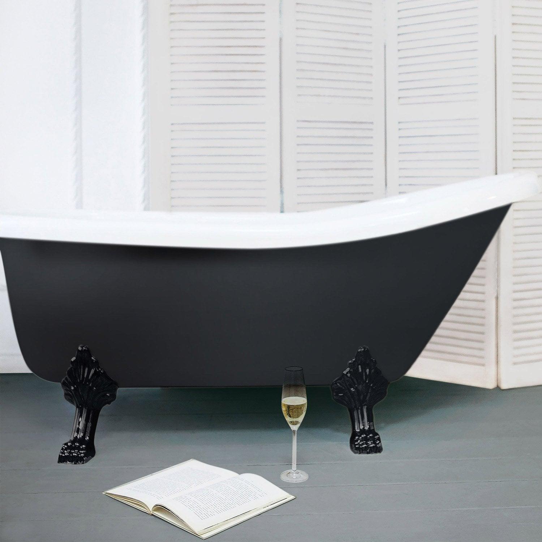 r sine color e color resinence noir l leroy merlin. Black Bedroom Furniture Sets. Home Design Ideas
