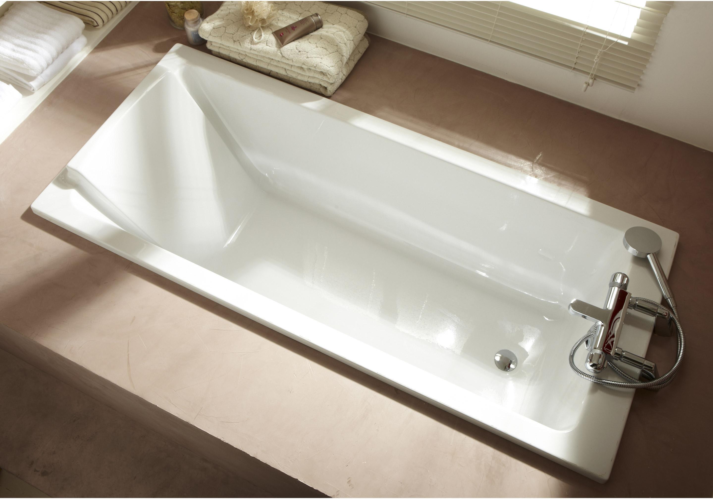 Baignoire rectangulaire L.170x l.75 cm blanc, JACOB DELAFON Sofa ... ea123327908f
