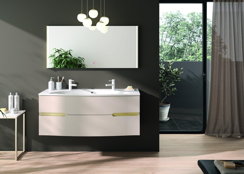 Meuble de salle de bains au design raffiné  Leroy Merlin