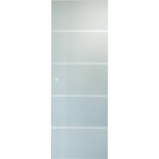 porte coulissante verre tremp miami artens 204 x 83 cm leroy merlin. Black Bedroom Furniture Sets. Home Design Ideas