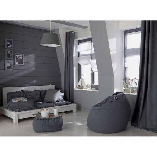 peinture gris galet 4 luxens couleurs int rieures satin 0 5 l leroy merlin. Black Bedroom Furniture Sets. Home Design Ideas