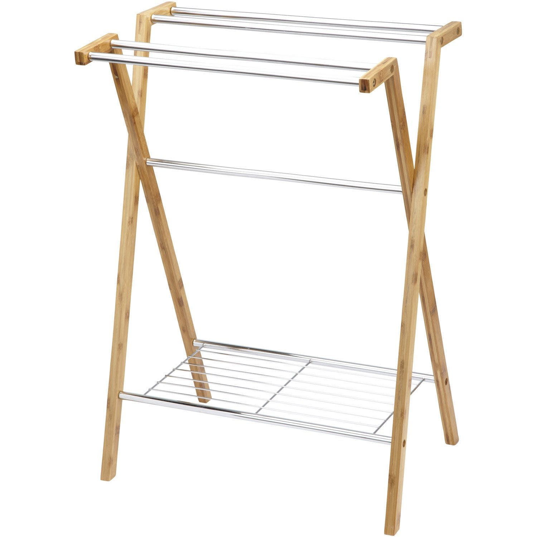Porteserviettes à Poser Wellness Leroy Merlin - Porte serviette en bois