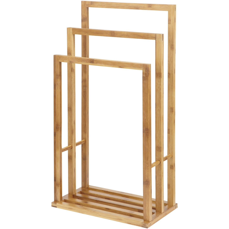 Porteserviettes à Poser Aneko Leroy Merlin - Porte serviette en bois