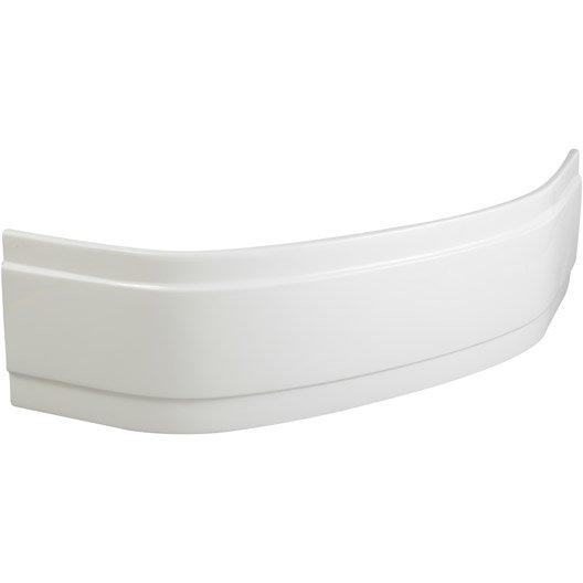 Tablier de baignoire d 39 angle cm blanc sensea - Baignoire angle leroy merlin ...