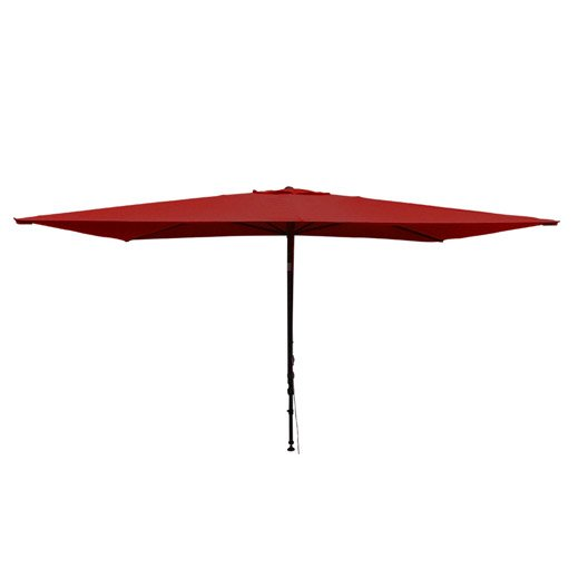 parasol balcon l o rose rectangulaire x cm leroy merlin. Black Bedroom Furniture Sets. Home Design Ideas