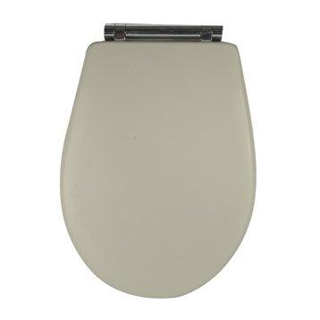 abattant wc olfa woodclip gris. Black Bedroom Furniture Sets. Home Design Ideas