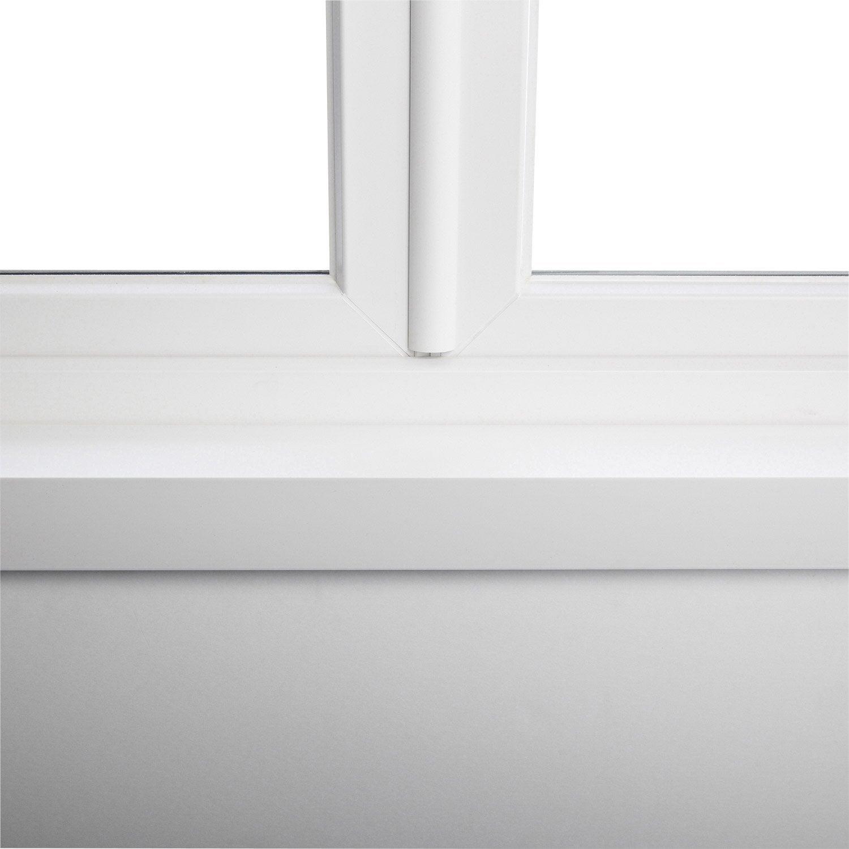 Cornière Pour Fenêtre Et Porte Fenêtre Pvc L250m Angle De 100x60mm ép 25mm