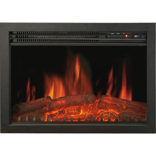 cheminee electrique a effet de flammes