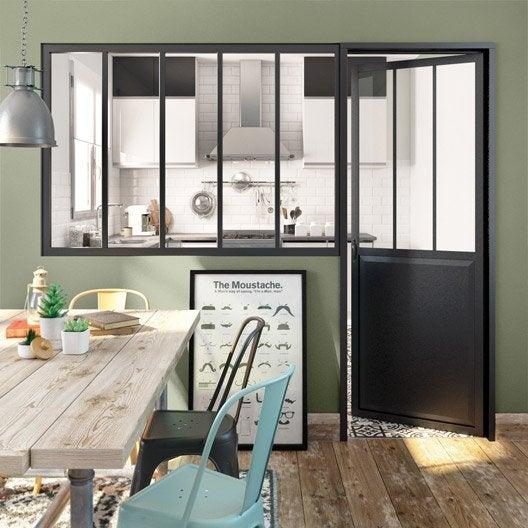 Verrière intérieure : cuisine, atelier, cloison au meilleur prix ...