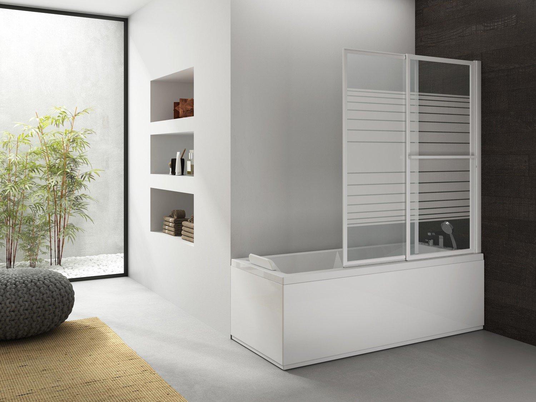 une paroi de douche lumineuse et transparente leroy merlin. Black Bedroom Furniture Sets. Home Design Ideas