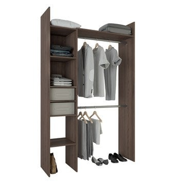 kit dressing am nagement placard penderie et dressing au meilleur prix leroy merlin. Black Bedroom Furniture Sets. Home Design Ideas