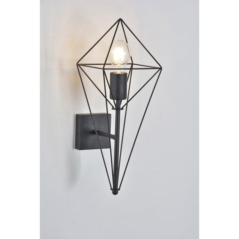 Métal Mat Noir s Bijou Corep 1 Lumière AppliqueDesign ARqS53j4cL