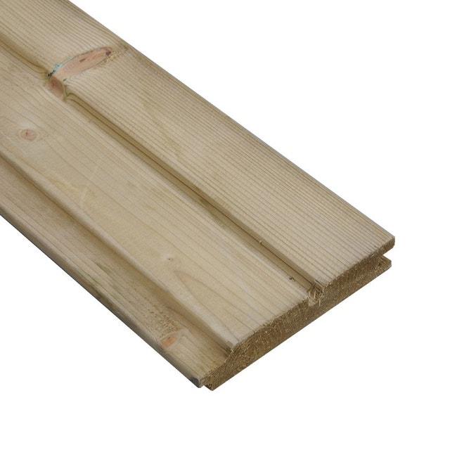 une cl ture qui mixe le bois et le m tal leroy merlin. Black Bedroom Furniture Sets. Home Design Ideas