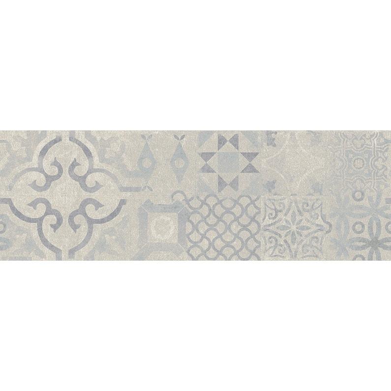 Sol Stratifie Intenso Novofloor Effet Carreaux Ciment Bleu Ep 8 Mm