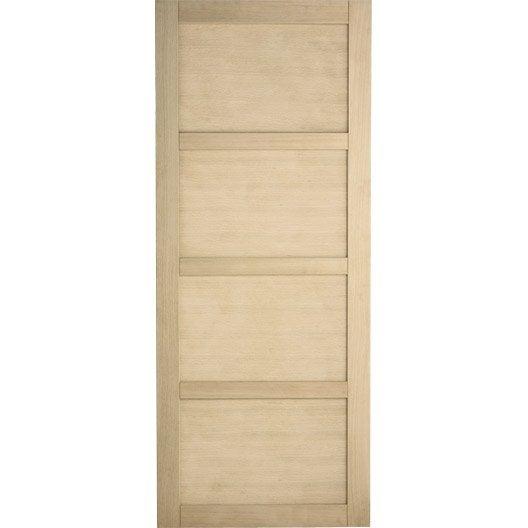 porte coulissante ch ne plaqu marron paris artens 204 x. Black Bedroom Furniture Sets. Home Design Ideas