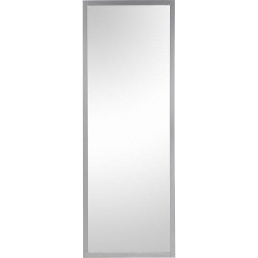 Porte coulissante aluminium aspen gris artens x l for Porte coulissante 73 cm