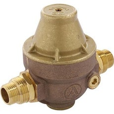 R gulation de la pression de l 39 eau r ducteur de pression leroy merlin - Reducteur de pression d eau apres compteur ...
