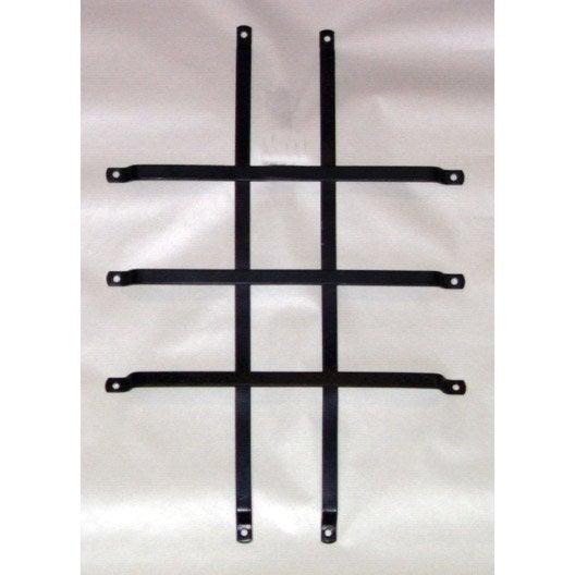 grille de protection pour hublot pour porte de garage. Black Bedroom Furniture Sets. Home Design Ideas