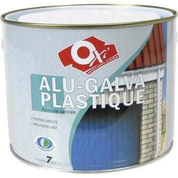 peinture alu galva plastique ext rieure int rieur oxytol vert fonc 1 5 l. Black Bedroom Furniture Sets. Home Design Ideas