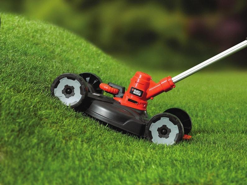Un coupe herbe lectrique pour entretenir le jardin - Coupe herbe electrique ...
