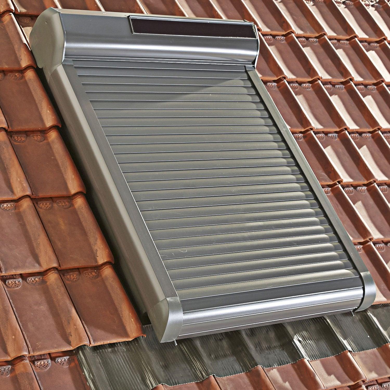 Volet fen tre de toit roulant nergie solaire artens - Volet roulant solaire avis ...