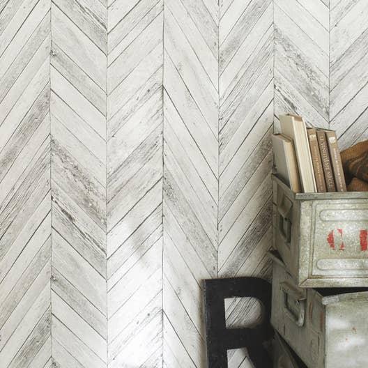 papier peint intiss tuck gris clair leroy merlin. Black Bedroom Furniture Sets. Home Design Ideas